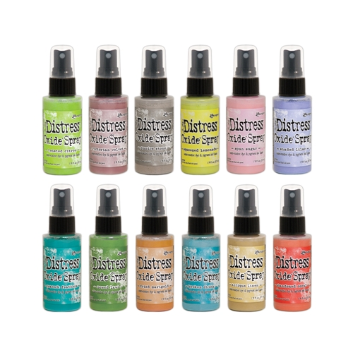 Tim Holtz Distress OXIDE SPRAY SET OF 12 Ranger ranger120 Preview Image