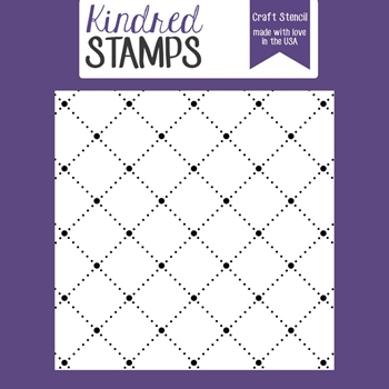 Kindred Stamps COUNTRY QUILT Stencil 71954236