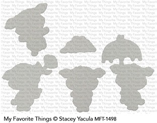 My Favorite Things PIGGY PEBBLES Die-Namics MFT1498*