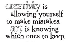 Tim Holtz Rubber Stamp MISTAKES Creativity Stampers Anonymous J2-1152 Preview Image
