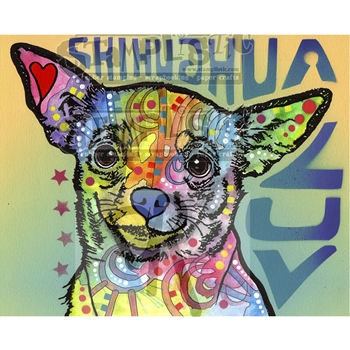 Stamplistic Cling Stamp CHICHUAHUA LUV Dean Russo k190417