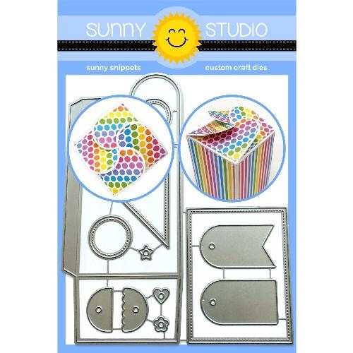 Sunny Studio WRAP AROUND GIFT Die SSDIE-139 Preview Image