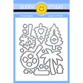 Sunny Studio SEASONAL TREES Dies SSDIE-145