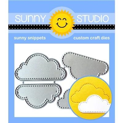 Sunny Studio FLUFFY CLOUDS Dies SSDIE-137 Preview Image