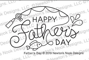 Newton's Nook Designs FATHER'S DAY Clear Stamp NN1904S06 zoom image