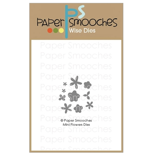 Paper Smooches MINI FLOWERS Wise Dies A1D433 Preview Image