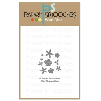 Paper Smooches MINI FLOWERS Wise Dies A1D433