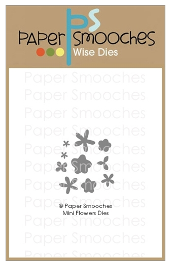 Paper Smooches MINI FLOWERS Wise Dies A1D433 zoom image