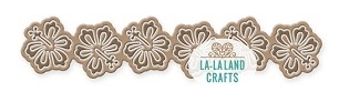 La-La Land Crafts HIBISCUS BORDER Die 8446