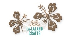 La-La Land Crafts HIBISCUS Dies 8445
