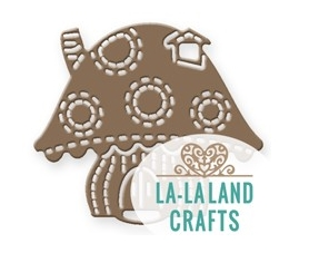 La-La Land Crafts MUSHROOM HOUSE Die 8448