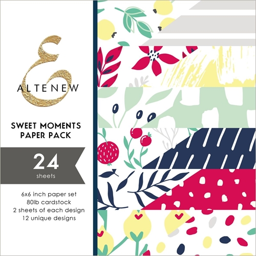 Altenew SWEET MOMENTS 6x6 Paper Pack ALT3250 Preview Image