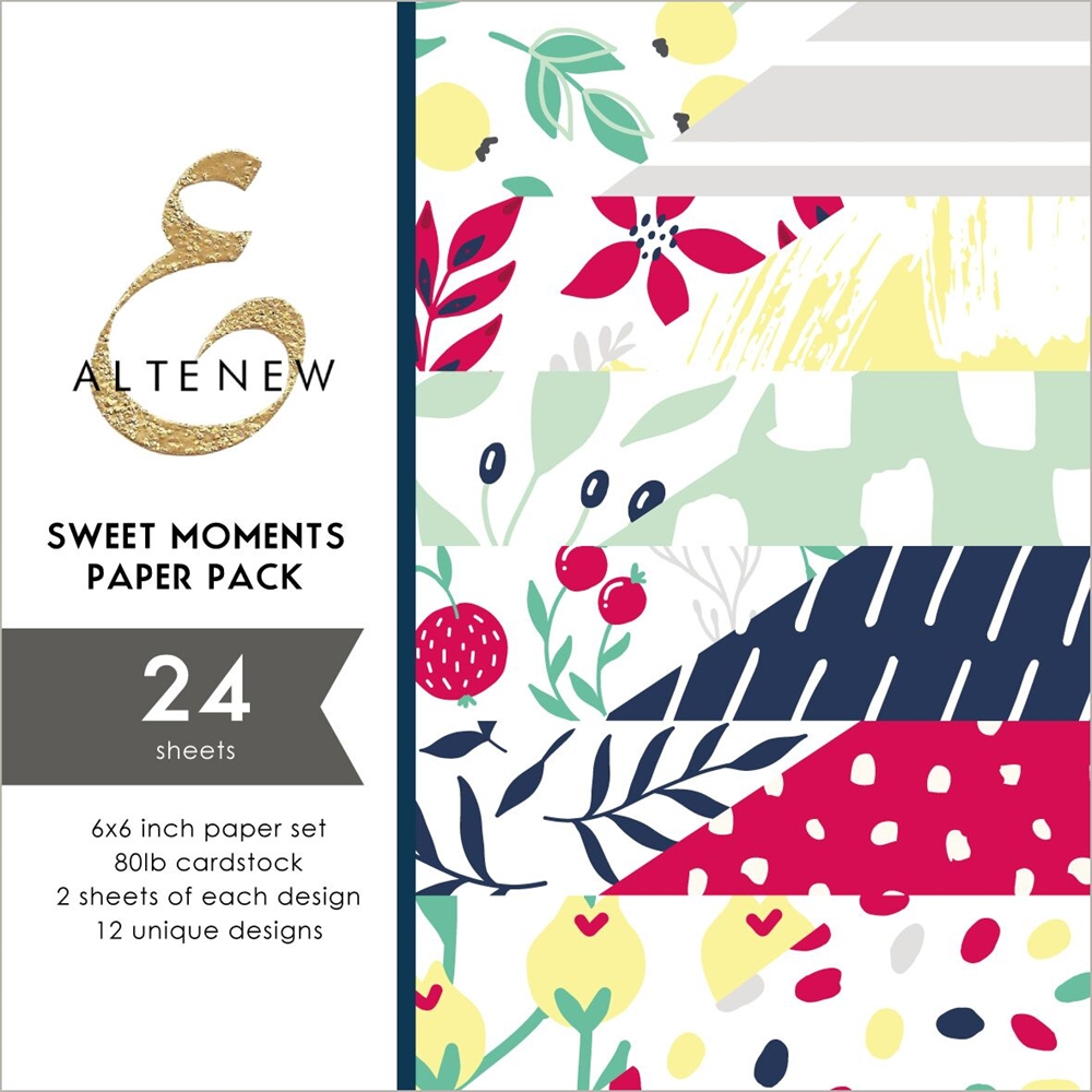 Altenew SWEET MOMENTS 6x6 Paper Pack ALT3250 zoom image