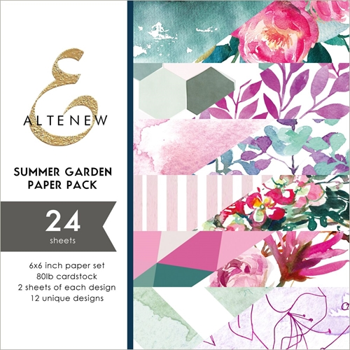 Altenew SUMMER GARDEN 6x6 Paper Pack ALT3249 Preview Image