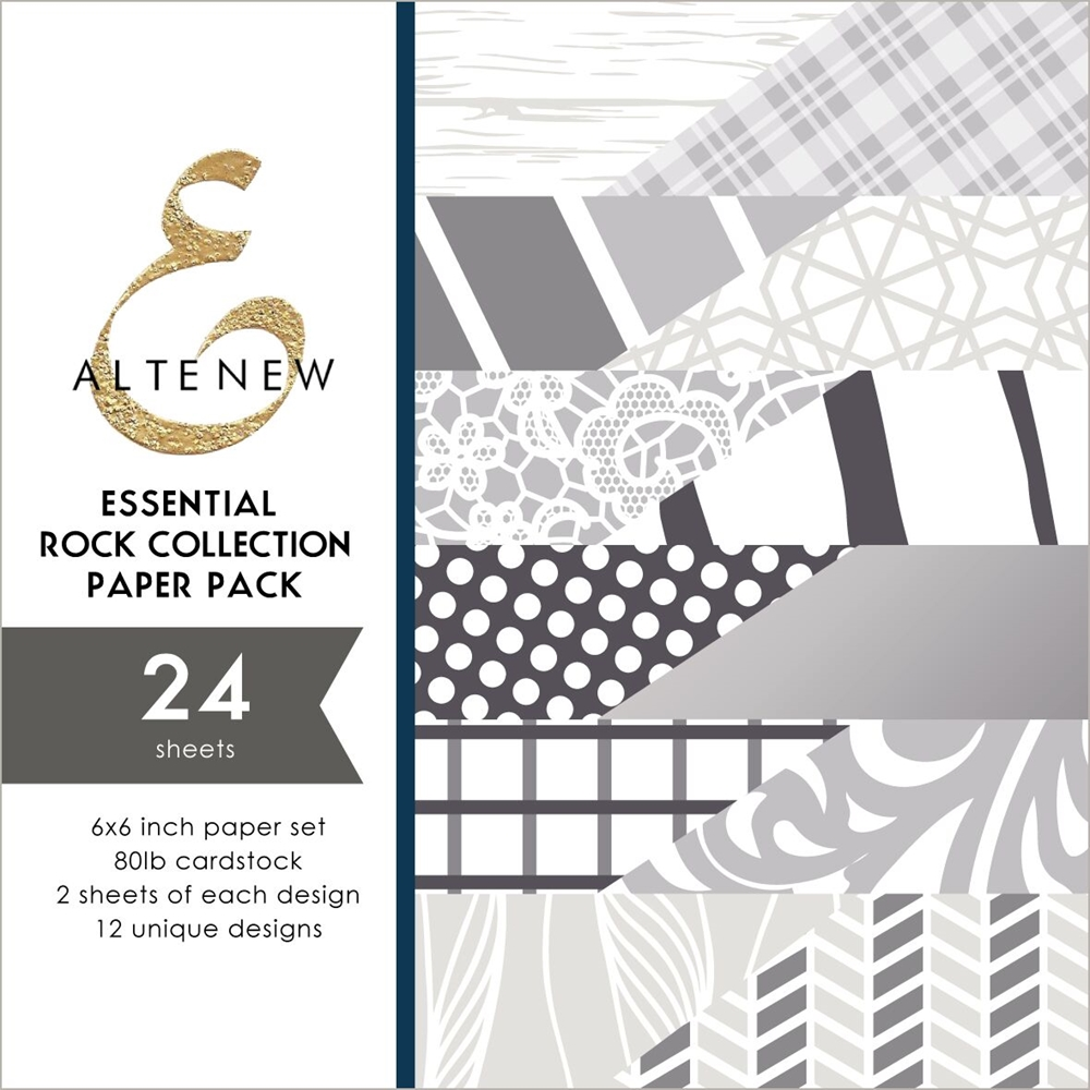Altenew ESSENTIAL ROCK COLLECTION 6x6 Paper Pack ALT3248 zoom image