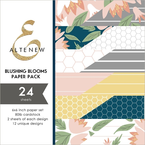Altenew BLUSHING BLOOMS 6x6 Paper Pack ALT3247 Preview Image