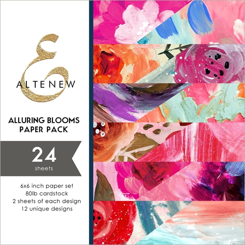 Altenew ALLURING BLOOMS 6x6 Paper Pack ALT3246 Preview Image