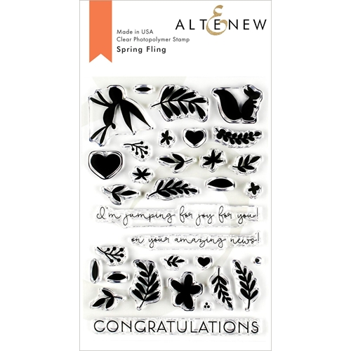 Altenew SPRING FLING Clear Stamps ALT3215 Preview Image