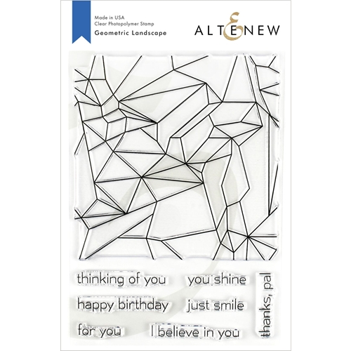 Altenew GEOMETRIC LANDSCAPE Clear Stamps ALT3211 Preview Image
