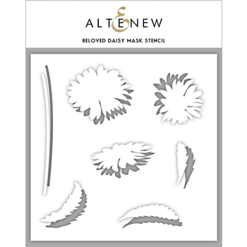 Altenew BELOVED DAISY Mask Stencil ALT3204