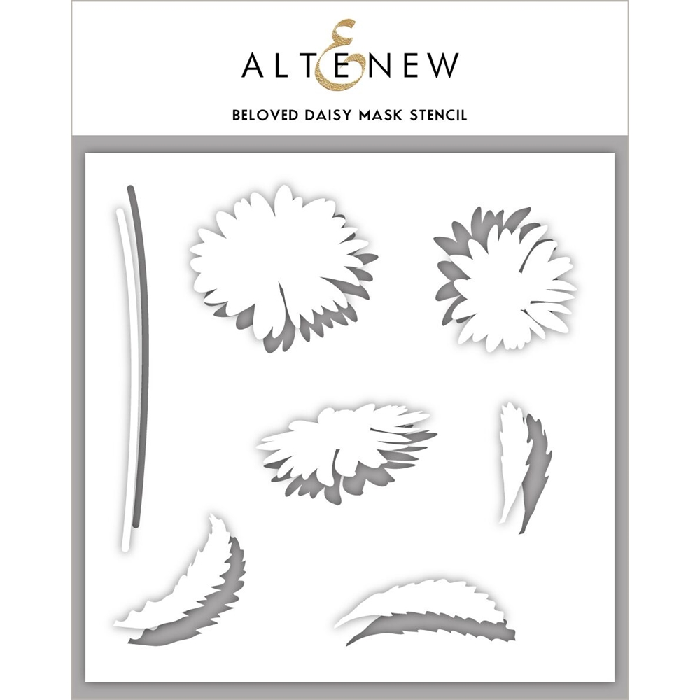 Altenew BELOVED DAISY Mask Stencil ALT3204 zoom image