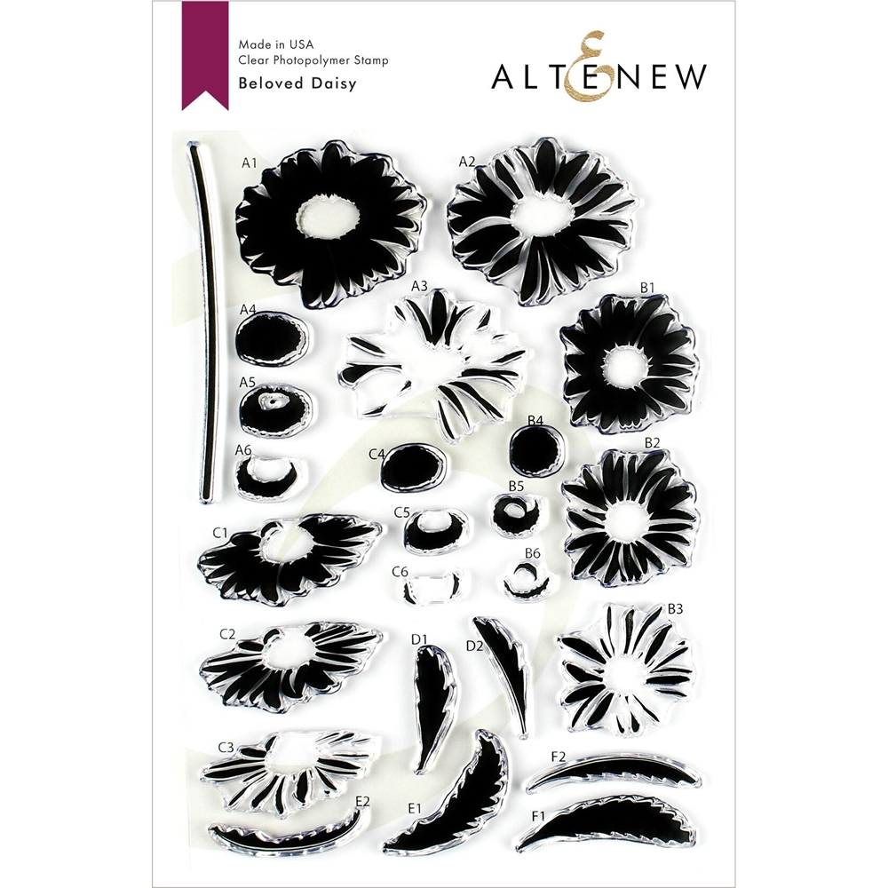 Altenew BELOVED DAISY Clear Stamps ALT3202 zoom image