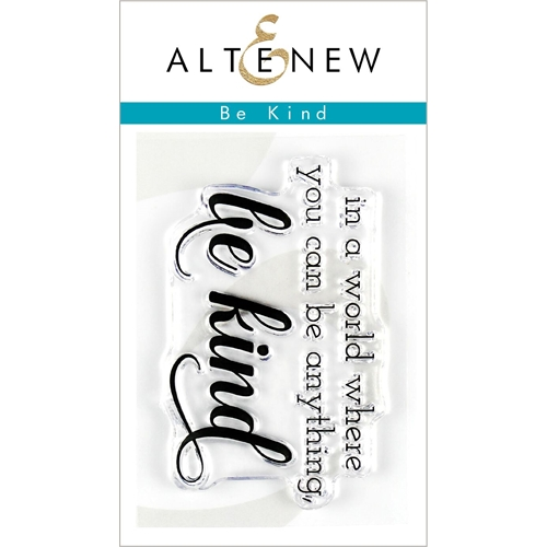 Altenew BE KIND Clear Stamps ALT3201 Preview Image