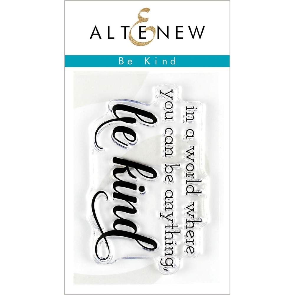 Altenew BE KIND Clear Stamps ALT3201 zoom image