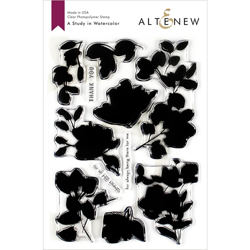 Altenew A STUDY IN WATERCOLOR Clear Stamps ALT3198 Preview Image
