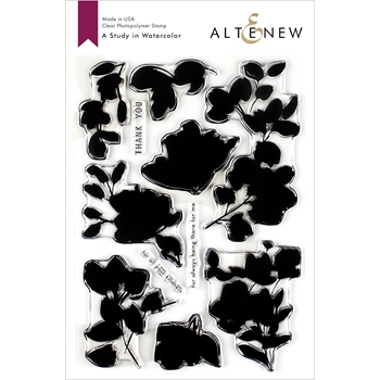 Altenew A STUDY IN WATERCOLOR Clear Stamps ALT3198