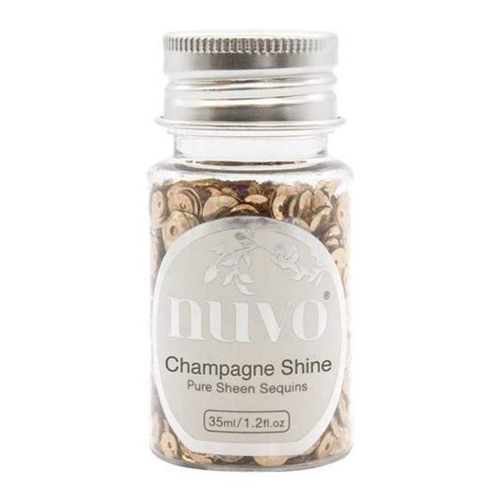 Tonic CHAMPAGNE SHINE Nuvo Pure Sheen Sequins 1145n Preview Image