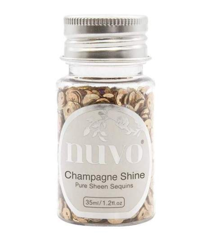Tonic CHAMPAGNE SHINE Nuvo Pure Sheen Sequins 1145n zoom image