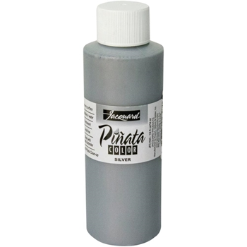 Jacquard SILVER Pinata Color Alcohol Ink 4oz jfc3033