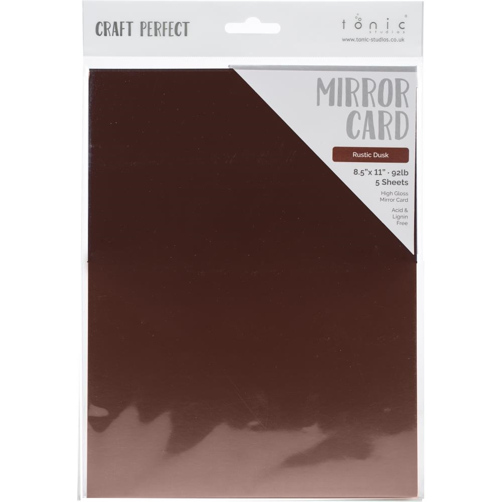 Tonic RUSTIC DUSK Mirror Card Cardstock 9464e zoom image