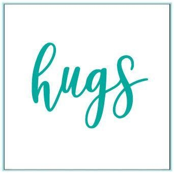 Gina K Designs HUGS Die 517