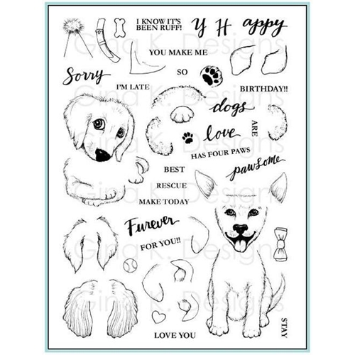 Gina K Designs PUPPIES GALORE Clear Stamps 562 Preview Image