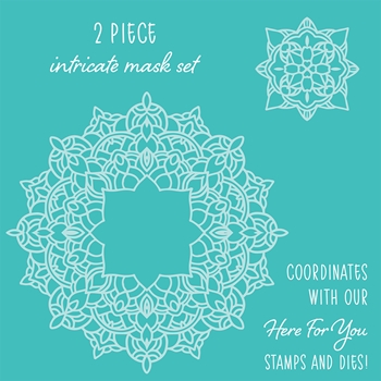 Honey Bee MANDALA Stencils Set of 2 hbsl-015