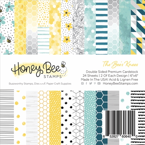 Honey Bee THE BEE'S KNEES 6 x 6 Paper Pad hbpa-001 Preview Image