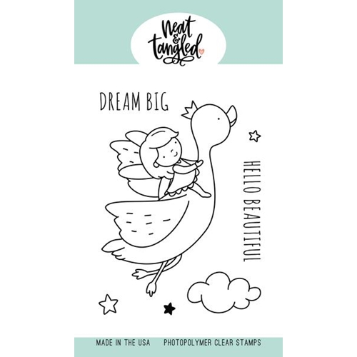 Neat and Tangled DREAM BIG Clear Stamps NAT470 Preview Image
