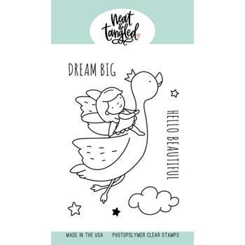 Neat and Tangled DREAM BIG Clear Stamps NAT470*