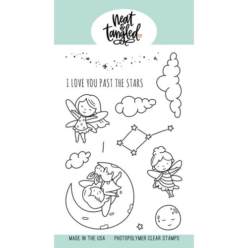 Neat and Tangled TO THE STARS Clear Stamps NAT468 Preview Image