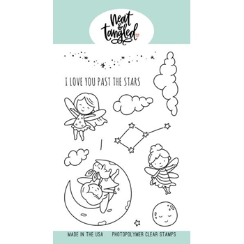 Neat and Tangled TO THE STARS Clear Stamps NAT468