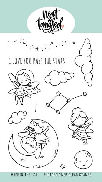 Neat and Tangled TO THE STARS Clear Stamps NAT468 zoom image