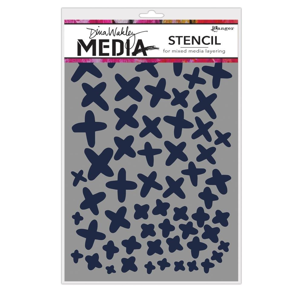 Dina Wakely XS Media Stencil MDS65043 zoom image