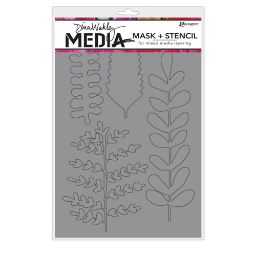 Dina Wakely BRANCHED Media Mask and Stencil MDS65005 Preview Image