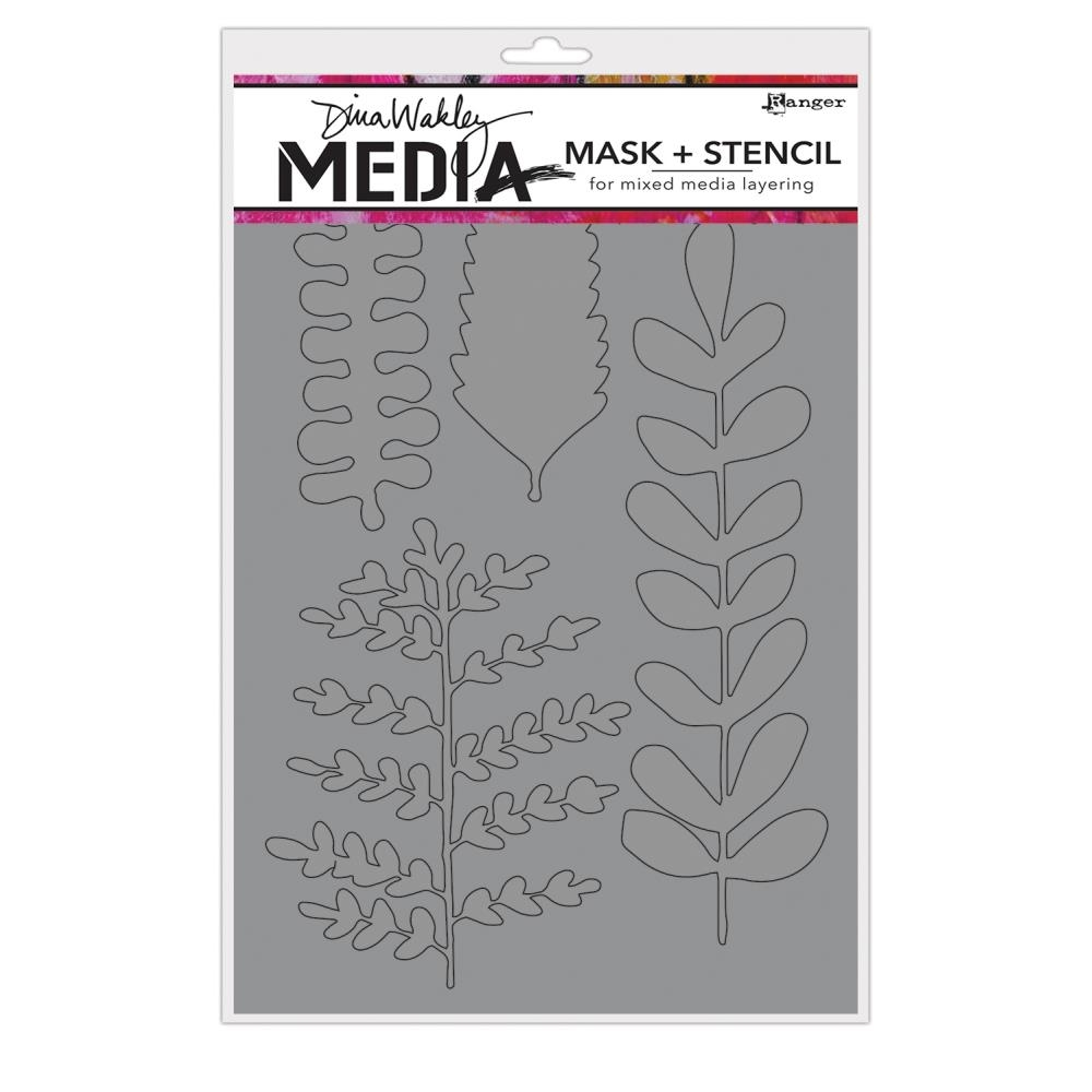 Dina Wakely BRANCHED Media Mask and Stencil MDS65005 zoom image