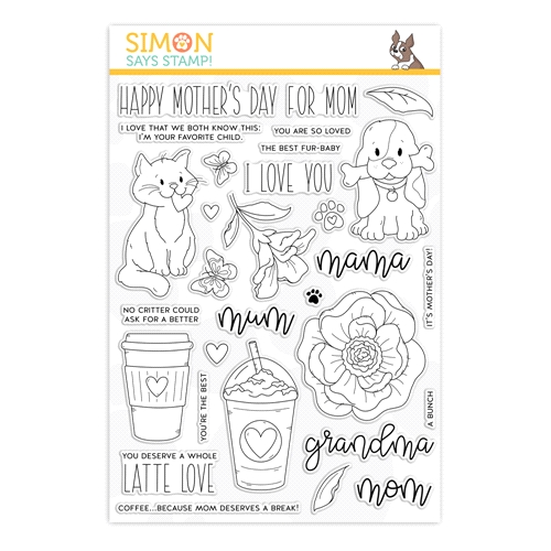 Simon Says Clear Stamps FOR ALL MOMS sss202004 Preview Image