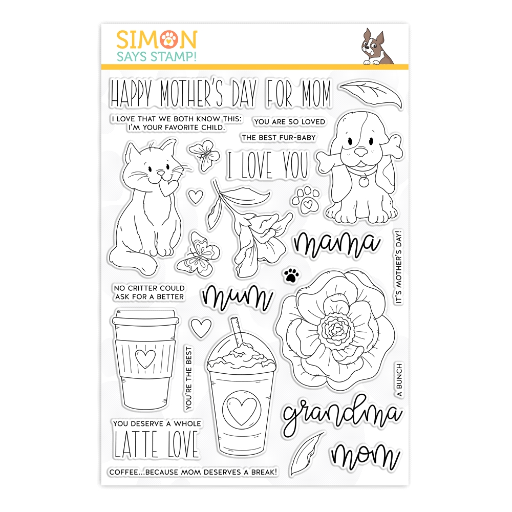 Simon Says Clear Stamps FOR ALL MOMS sss202004 zoom image