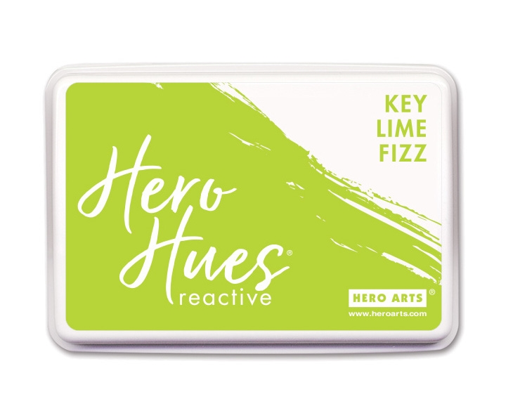 Hero Arts Reactive Ink Pad KEY LIME FIZZ AF424 zoom image