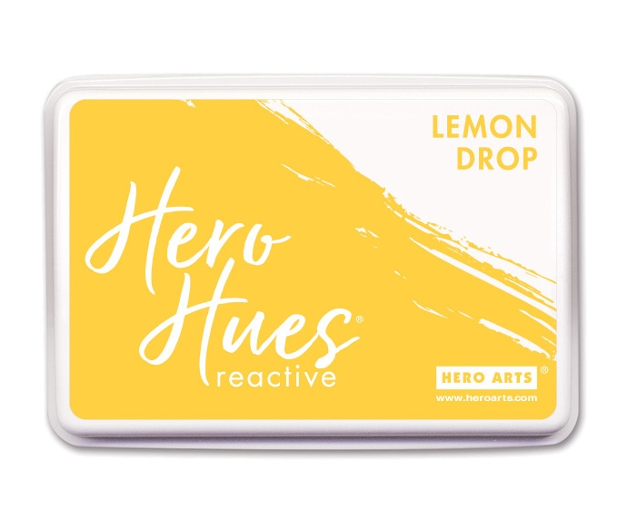 Hero Arts Reactive Ink Pad LEMON DROP AF423 zoom image